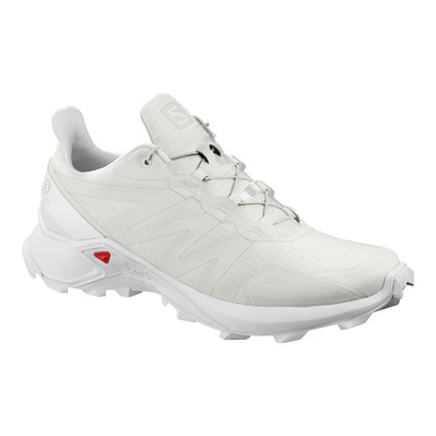 SALOMON - SUPERCROSS - Chaussures trail Homme white/white/white