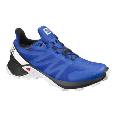SALOMON - SUPERCROSS GTX - Zapatillas de trail hombre lapis blue/black/white