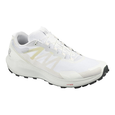 SALOMON - Shoes SENSE RIDE 3 White/White/Balsam Gr Homme White/White/Balsam Gr