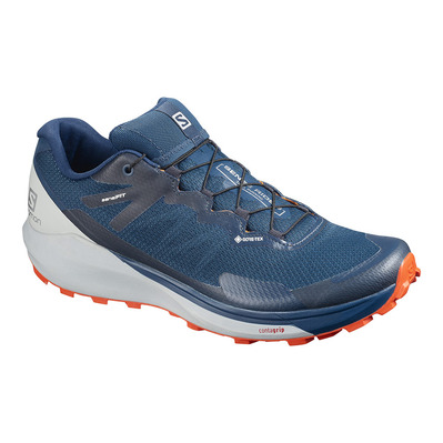 SALOMON - SENSE RIDE 3 GTX INVIS. FIT - Chaussures trail Homme poseid