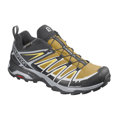 SALOMON - X ULTRA 3 GTX - Chaussures randonnée Homme arrowwood/black/lemon