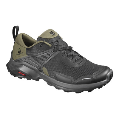 SALOMON - X RAISE - Chaussures randonnée Homme black/grape leaf/phantom