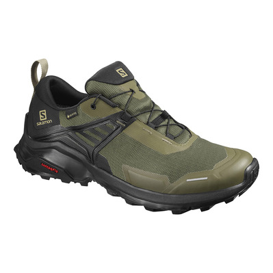 SALOMON - X RAISE GTX - Zapatillas de senderismo hombre grape leaf/black/black