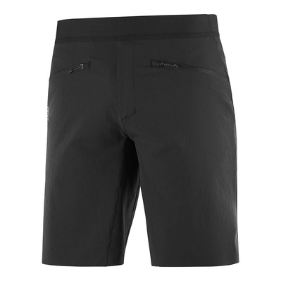 SALOMON - WAYFARER PULL ON SHORT M Black Homme BLACK