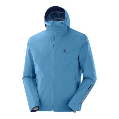 SALOMON - OUTLINE JKT M Fjord Blue Homme FJORD BLUE