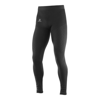 SALOMON - Pants EXO MOTION LONG TIGHT M Black Homme BLACK