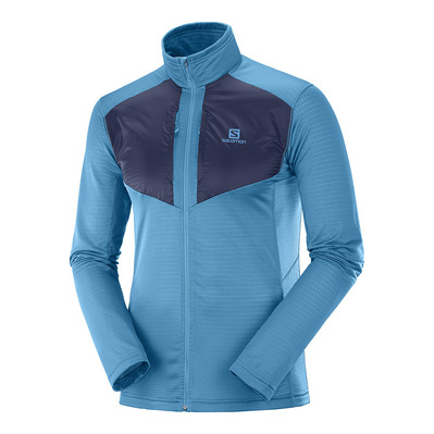 SALOMON - GRID FZ MID M Fjord Blue/NIGHT SKY Homme FJORD BLUE/NIGHT SKY