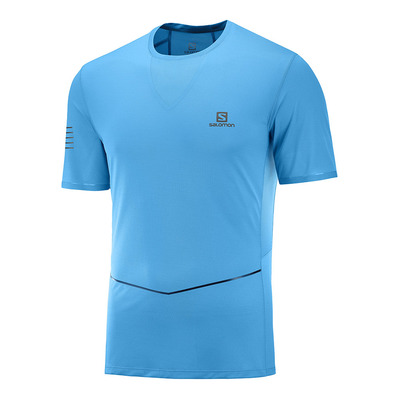 SALOMON - SENSE ULTRA - Shirt Männer vivid blue