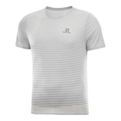 SALOMON - T Shirt SENSE TEE M White/Alloy Homme WHITE/NIGHT SKY