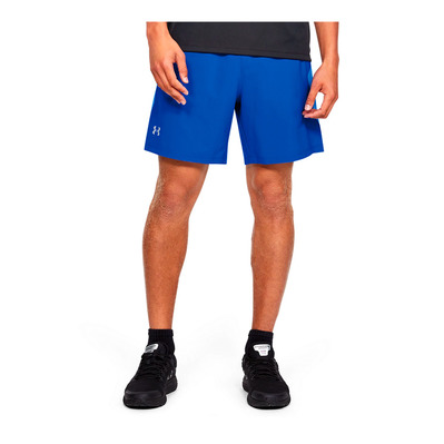 UNDER ARMOUR - UA LAUNCH SW 7'' SHORT-BLU Homme Versa Blue/Water/Reflective