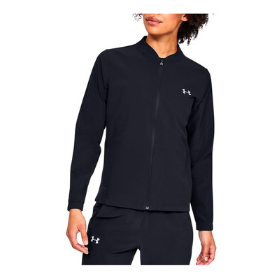 UNDER ARMOUR - UA Storm Launch Jacket-BLK Femme Black/Black/Reflective