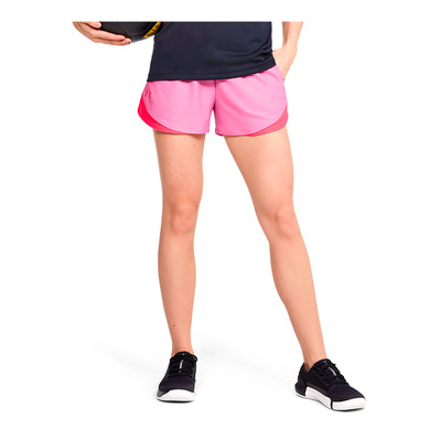 UNDER ARMOUR - Play Up Shorts 3.0-PNK Femme Lipstick/Beta/Beta