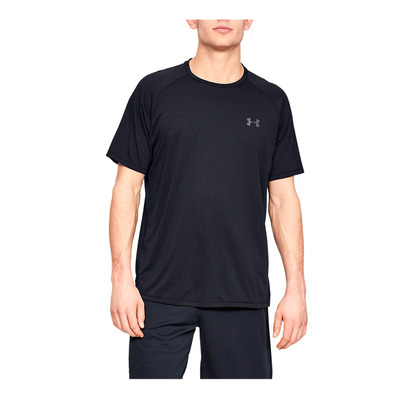 UNDER ARMOUR - TECH™ 2,0 - T-shirt Uomo black/pitch gray