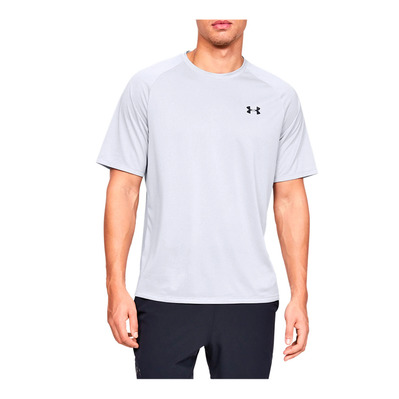 UNDER ARMOUR - UA Tech 2.0 SS Tee Novelty-GRY Homme Halo Gray/Black