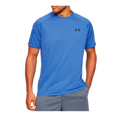 UNDER ARMOUR - UA Tech 2.0 SS Tee Novelty-BLU Homme Versa Blue/Black