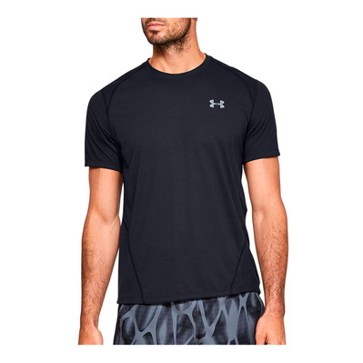 UNDER ARMOUR - STREAKER 2,0 SHIFT - T-shirt Uomo black/black/reflective