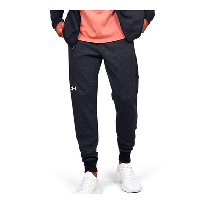 UNDER ARMOUR - DOUBLE KNIT - Jogging Homme black/onyx white
