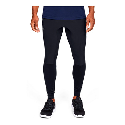 UNDER ARMOUR - HYBRID PANTS-BLK Homme Black/Pitch Gray