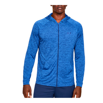 UNDER ARMOUR - UA TECH 2.0 FZ HOODIE-BLU Homme American Blue/Versa Blue