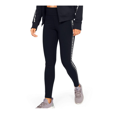 UNDER ARMOUR - UA FAVORITE LEGGING BRANDED-BLK Femme Black/Onyx White/Black