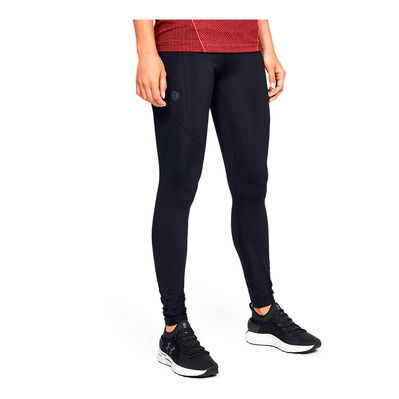 UNDER ARMOUR - RUSH - Mallas mujer black/black/black