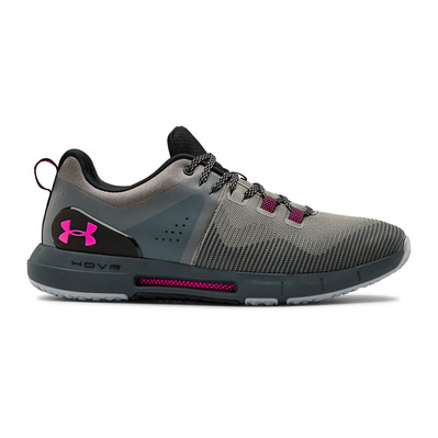 UNDER ARMOUR - HOVR RISE - Chaussures training Homme gravity green/pitch gray/pink surge