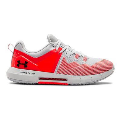UNDER ARMOUR - UA HOVR RISE - Zapatillas de training mujer halo gray/halo gray/black
