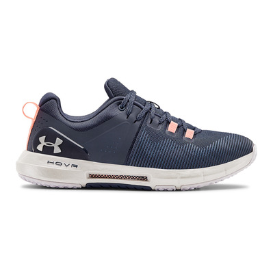 UNDER ARMOUR - UA HOVR RISE - Scarpe da training Donna blue ink/white/white