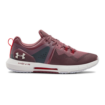 UNDER ARMOUR - UA HOVR RISE - Zapatillas de training mujer hushed pink/white/white