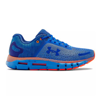 UNDER ARMOUR - HOVR INFINITE 2 - Chaussures running Homme water/orange spark/versa blue