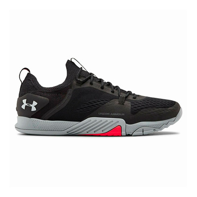 UNDER ARMOUR - TRIBASE REIGN 2 - Chaussures training Homme black/steel/halo gray