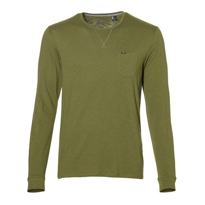 LM JACK'S BASE- Tee-shirt Homme winter mos