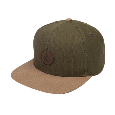 QUARTER FABRIC - Casquette Homme army