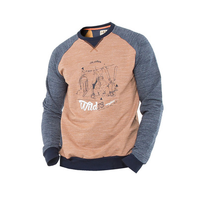 ABK KUNLUN SHAN CREW - Sweat Homme earth brown