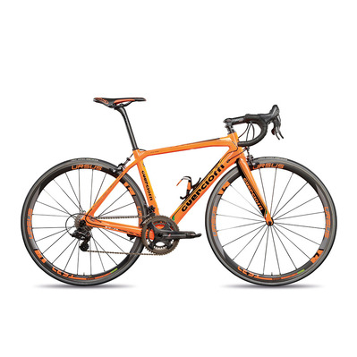 Guerciotti ECLIPSE 64-14 SHIMANO 105 7000 - Vélo de route orange ccc sprandi