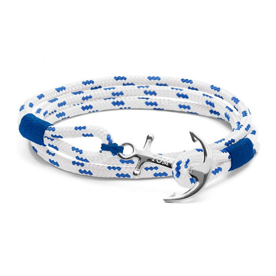 ROYAL BLUE - Bracelet blanco/azul/plateado
