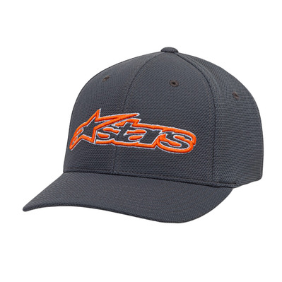 BLAZE MOCK MESH - Casquette Homme charcoal/orange