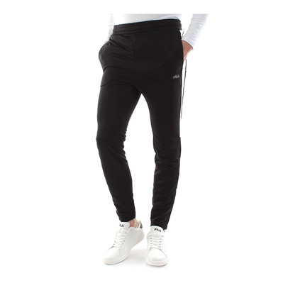 682072 SOLAR TIGHT - Jogging Homme black/bright white