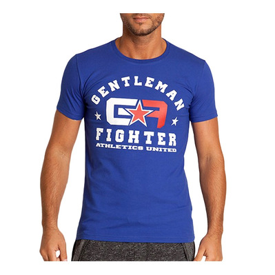Gentleman Fighter AMERICANO - Tee-shirt Homme bleu