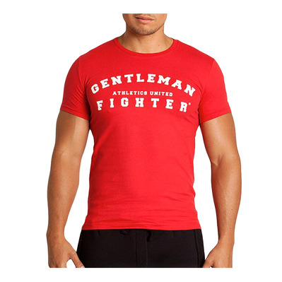 Gentleman Fighter AUTENTICO - Tee-shirt Homme rouge audace