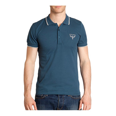 Gentleman Fighter BURANO - Polo Homme bleu