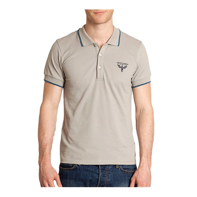 Gentleman Fighter BURANO - Polo Homme gris