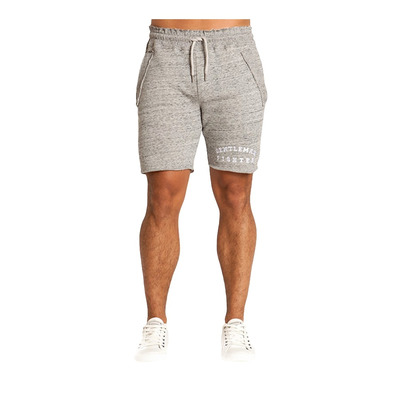 Gentleman Fighter LEGANO - Short Homme gris chiné
