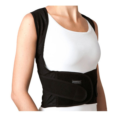 POSITION - Gilet de maintien dos black
