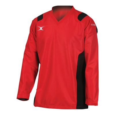 REVO WARM UP - Coupe-vent Junior red/black
