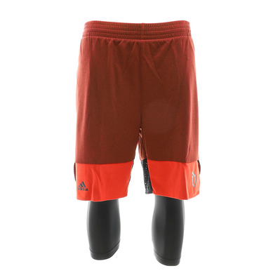 DAME 2IN1 - Short Homme red