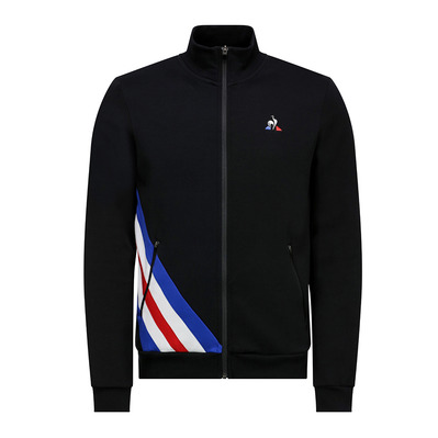 TRICOLORE N°2 - Sweat Homme black