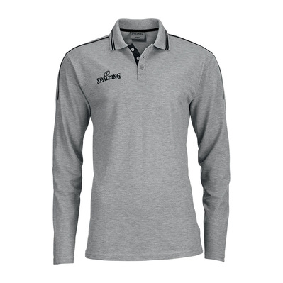 MANCHEST - Polo hombre heather grey/black