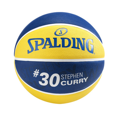 NBA PLAYER STEPHEN CURRY - Balón yellow/blue