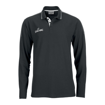 MANCHEST - Polo hombre black/silver grey